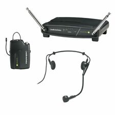 Audio-Technica Atw-901a/h VHF Wireless Headset Microphone System 9 Set