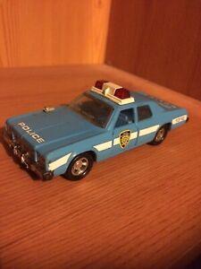 Matchbox Super Kings Plymouth Gran Fury Police Car.