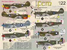 fcm72022/ FCM Decals - Curtiss P-40 - USA - Brasilien - UdSSR - 1/72