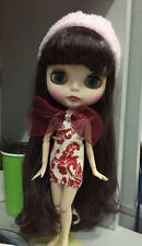 """12"""" Neo Nude  Matte Face Purple Hair Blythe doll Joint Body From Factory +Gift"""