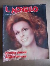 MONELLO n°10 1975 Ornella Vanoni Angelo Sormani Giuseppe Damiani  [G548]