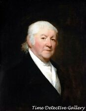 Paul Revere at 78 Years Old by Gilbert Stuart -1813- Print of Historic Painting