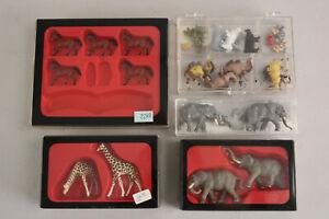VTG Preiser Merten 1/87 HO Circus Animal Figure Lot Some NOS Elephants Giraffes+