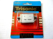 FM Trap 75 Ohm Coax Input and Output, Coaxial Input & Output