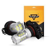 2x 5202 H16 6000K White 50W High Power CREE Fog Light LED Driving Bulb DRL AU