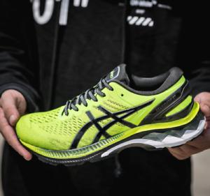 2021 New ASICS HOT Spring Summer Men's Running shoes GEL-KAYANO 27 Green