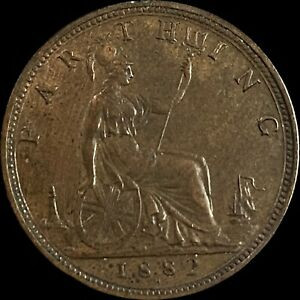 1882 H Great Britain Farthing (Ch. UNC)