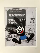 Disney - Oswald The Lucky Rabbit - Hand Drawn & Hand Painted Cel