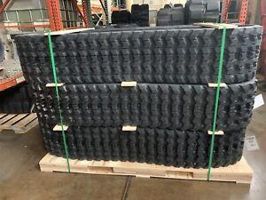 320x86x52 Rubber Tracks Zig Zag Set Qty 2 BOBCAT 864 T200 T630 T650 JCB 190T