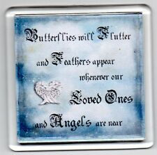FRIDGE MAGNET Quotes Saying Gift Present Novelty Funny BUTTERFLIES AND ANGELS