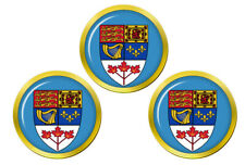 Canada Manteau de Bras Marqueurs de Balles de Golf