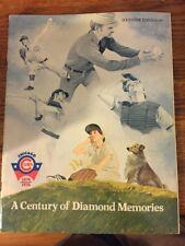 Chicago Cubs 1876-1976 A Century of Diamond Memories Magazine Souvenir