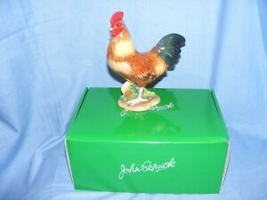 Cockerel John Beswick Rhode Island Red JBB13RI Figurine Ornament New Boxed Farm