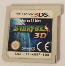 Starfox Star Fox 64 3D 3ds 3dsxl 2ds 2dsxl Giochi Usati Offerta solo cartuccia