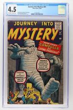Journey Into Mystery #61 - Atlas 1960 CGC 4.5