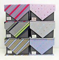 Geschenk Herren Hochwertige Krawatte Geschenkbox mit Anleitung zum Binden
