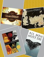 Game Of Thrones Poster HBO Series 24 x 36 Lot Of 4
