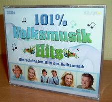 101% Volksmusikhits  - Marilena, Naabtal Duo ua  Die schönsten Lieder 3 CDs  OVP