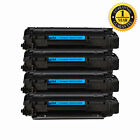 4PK CE285A Toner Cartridge For HP LaserJet 85A P1102 P1102w P1006 P1005 M1212nf