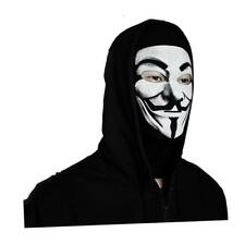 V for Vendetta Mask Anonymous Guy Fawkes Occupy Hallow Balaclava Costume cosplay