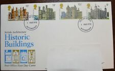 1978 GB First Day Cover - Stamps - British Architecture - Historic Buildings