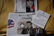 John f. kennedy San marino 5 euro moneda de plata 2013  EEUU moneda Silver Proof
