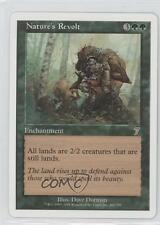 2001 Magic: The Gathering - Core Set: 7th Edition #260 Nature's Revolt Card 0a7