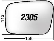 SUBARU OUTBACK  2305D  RICAMBIO SPECCHIO DESTRO VETRO + BIADESIVO