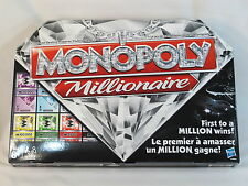Monopoly Millionaire 2012 Board Game Parker Brothers New Open Box