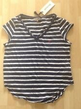 Women's Size 14 Navy / White striped Top From Soulcal