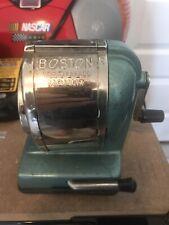 Vintage Boston Vacuum Mount Pencil Sharpener 1950's