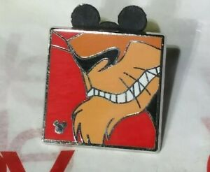 Disney Scar's Chin Smiling Villains Hidden Mickey 5 of 5 Lion King Trading Pin