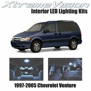 XtremeVision Interior LED for Chevrolet Venture 1997-2005 (15 PCS) Cool White