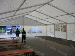 Stabile Festzelte Partyzelte Profizelte PVC / 8x27m / Farbe nach Wahl