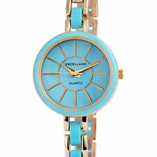 Excellanc Polierte Armbanduhren mit 12-Stunden-Zifferblatt für Damen
