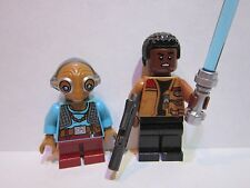 Lego Star Wars MAZ and FINN minifigure lot 75139 100% REAL LEGO BRAND