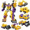 Construction Engineering Truck Robot Combiner Devastator Action Figure Kids Toy