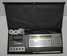 Pocket computer Sharp PC-1211 (et interface CE-122) à restaurer