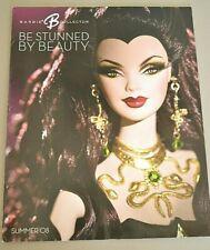 2008 Barbie Collector se aturdida por la revista de belleza Medusa Verano