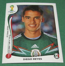 N°78 DIEGO REYES MEXICO PANINI FOOTBALL FIFA WORLD CUP BRAZIL 2014 BRASIL