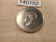 2000 Liberia 10 Dollars 1917-1963 Kennedy Collector Grade Album Coin - # 140152