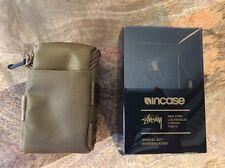 Stussy x Incase Black Series 001 Gold Desert Tan Utility Pouch Rare NEW