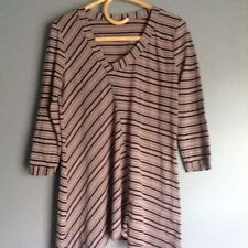 metalicus Striped Knit Tops for Women