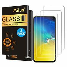 Ultra Clear 3 Pack Tempered Glass Screen Protector 9H Hardness For Galaxy S10E