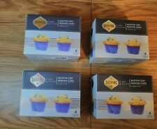 (4) Muffin Top Baking Cupcake Liner Cups Kitchen Oven & Dishwasher Safe
