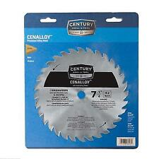 "CENTURY Drill 32t X 7 1/4"" Combination Circular Saw Blade Universal Arbor 08203"
