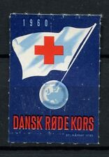 Used Red Cross Danish & Faroese Stamps