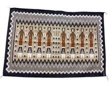 Margie Harvey, Yei Rug, Navajo Handwoven, 55 in x 35 in