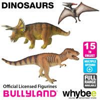 Genuine Bullyland Dinosaurs Collection Plastic Figurines Figures Full Range!