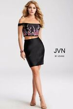 PROM/PAGEANT/HOMECOMING//Short/ 2 pieces by Jovani  white size 4